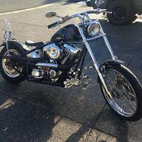 Harley Rigid Bobber Evo w/6 speed Bar Hopper