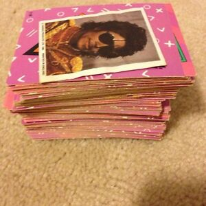 Vintage Michael Jackson collectable cards Cambridge Kitchener Area image 2