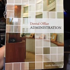 Dental office administration text