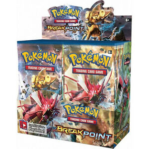 Pokemon BREAK POINT Booster.