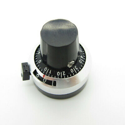 Potentiometer Pot Rotary Dial Knob 6.35mm Hole Multi-turn 10 Turns For 3590s