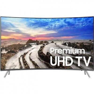 SAMSUNG LED UN65MU8500 65 Curved Smart TV 4K Ultra HD 2160p 240Hz UHD 8 Series