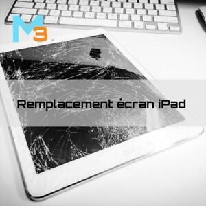 Réparation vitre iPad rapide à Rosemère