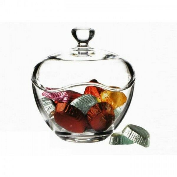 Glass Bag Candy Dish