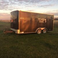 8'x16' cargo trailer