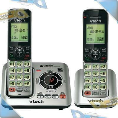 NEW VTECH DECT 6.0 Cordless Home Phone Telephone 2-Set Syst