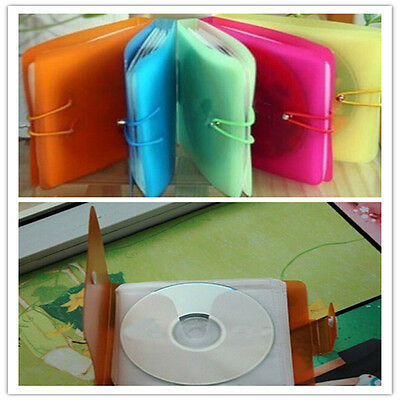 12 Pcs/set Clear Cover Portable Disc CD DVD Plastic Storage Bag Home Handy Tools