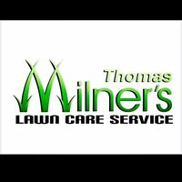 Grass cutting . Milner's lawn care . Yard clean up