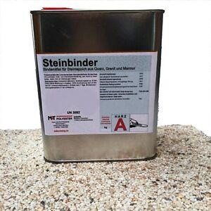 2-K 1,2 kg Steinbinder Bindemittel Steinteppich für Marmor Quarz Glas