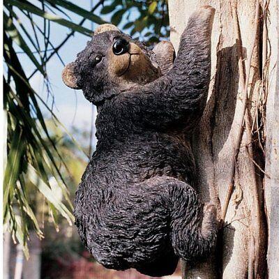 Climbing Bear Statue High Quality Designer Resin Hand Painted Single (Designer Resin Statue)