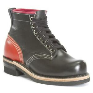 """Dayton Men's 6"""" Red Driver Boots"""