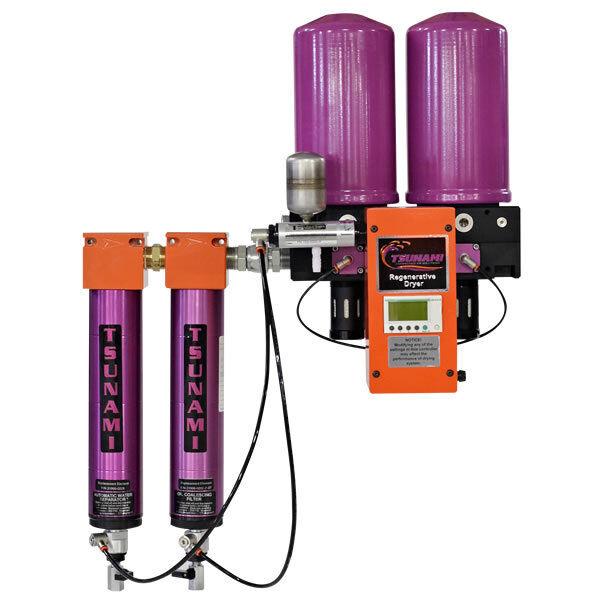 "Tsunami 1"" Regenerative Air Dryer 10-hp (40 Cfm)"