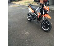 Fully road legal pitbike 2016 125