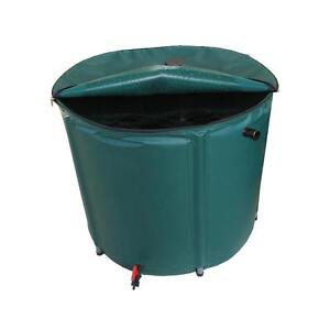 NEW 400L Portable Garden Water Tank Storage Unit w/ Tap Great for Camping Travel