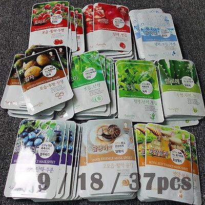 Ultra Essence Face Mask Sheet Pack Korea Cosmetic Facial Sk