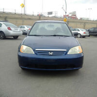 2002 Honda Civic DX-G Seulement 113000km