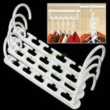 8 PCS Set Multi Function​ Space Saving Magic Wonder Hangers Narre Warren Casey Area Preview