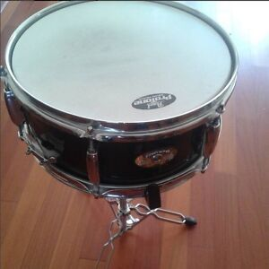 Pearl Snare Drum , Pearl Firecracker and stand