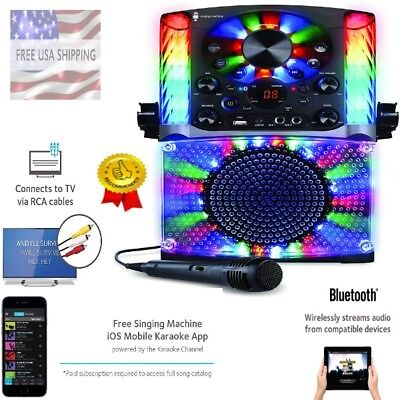 Best Karaoke Singing Machine Bluetooth For Adults Kids Great for 1 or 2 to