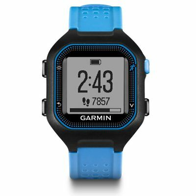 Garmin Forerunner 25 Black/Blue GPS Sport Watch 010-01353-01
