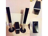 Samsung Surround Sound Speakers + Sub