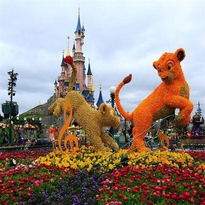 Справочный материал Disneyland Park Flower Lion