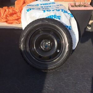 Four Winter tires and rims Kitchener / Waterloo Kitchener Area image 2