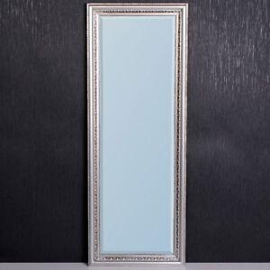 Barock Wandspiegel MILANO silber-antik 160x60cm Barockspiegel Flurspiegel