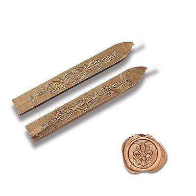 Traditional Wax Sealing Stick Letters Stamp Melting Candle Envelope Gold