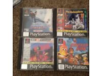 PlayStation one (ps1) & gamecube games