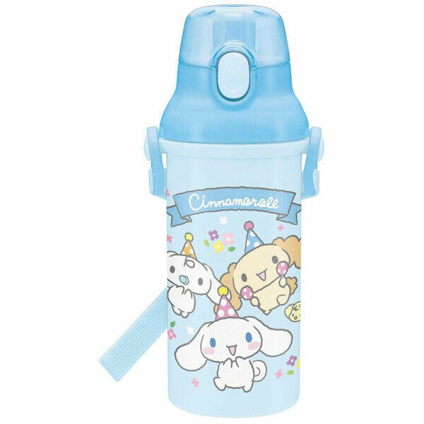 Cinnamoroll Clear One Touch Bottle 16Oz. with Strap for Kids