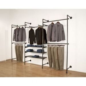 Wholesale Store Display Fixtures-Retail Clothing Racks