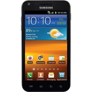 GREAT Sprint Samsung Galaxy S II Epic 4G Touch SPH-D710 BLACK CLEAN ESN