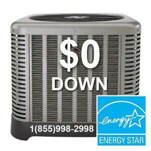 HIGH EFFICIENCY AIR CONDITIONER - FURNACE - Rent to Own - $0 down - NO Credit Check