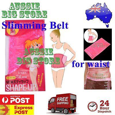 Weight Loss Sauna Wrap Slimming Body Slim Belt Tummy Waist Belly Shaper Lost Fat