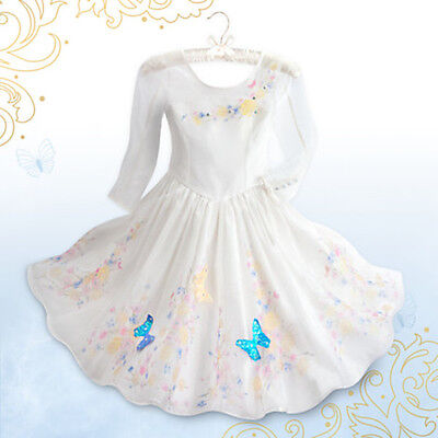 NWT Disney Store Cinderella Wedding Gown Costume Live Action Film Girls 3