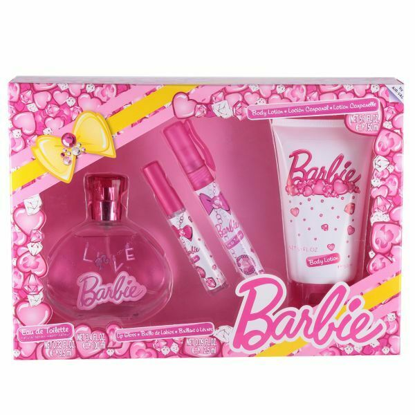 Barbie 4 Piece Gift Set for Girls ~ New In Packaging ~
