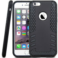 Robot Rocket Style Black Case Cover Shockproof For Iphone 6 6S +
