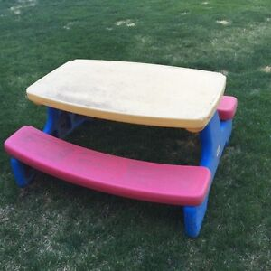 Little Tykes Picnic Table $10