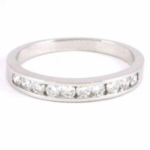 14k White Gold Diamond Anniversary Band (0.33 tdw) #3138