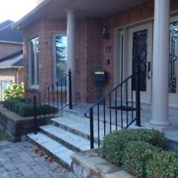Custom made railings and gates