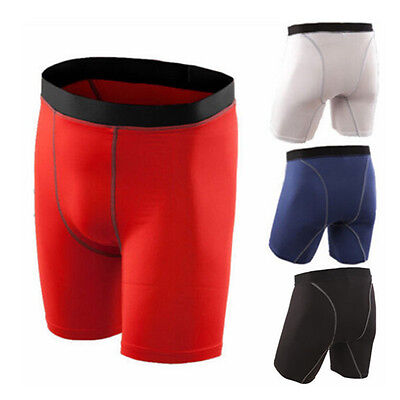 Mens Running,Basketball,Training Tights Fitness Trousers Clothing Base Layer