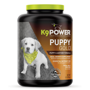 K9 Puppy Gold Supplement NEW X2 7lbs Perfect for Pup or Mother!
