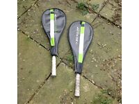 Dunlop squash rackets Tempo Graphite £20 the pair