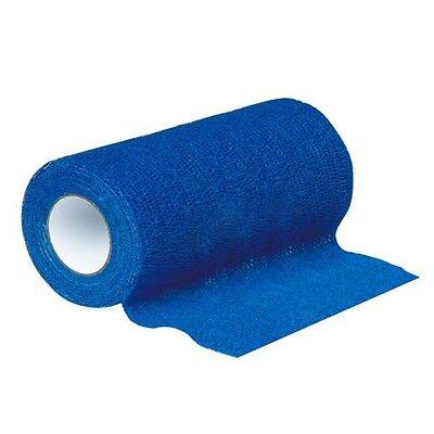 Haftbandage / Selbsthaftende Bandage blau 15 cm x 4,5 m