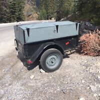4x6 trailer with enclosed lid