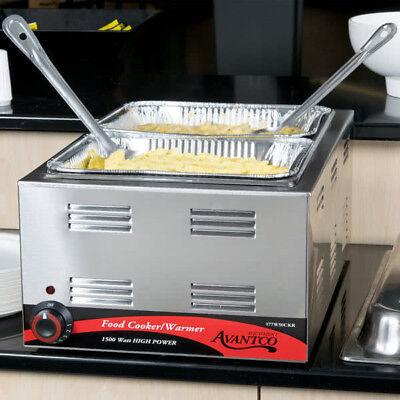 Avantco W50ckr Full Size Electric Countertop Food Cookerwarmer 120v 1500w