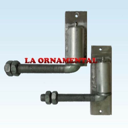 Elite power hinge 1 steel driveway gate hinge heavy duty for Driveway gate hardware heavy duty