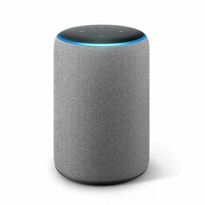 Echo Plus (2. Gen) Premiumklang Smart Home-Hub Hellgrau