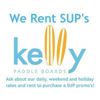 Rent Our Kelly Air 11.0 Stand Up Paddle Board